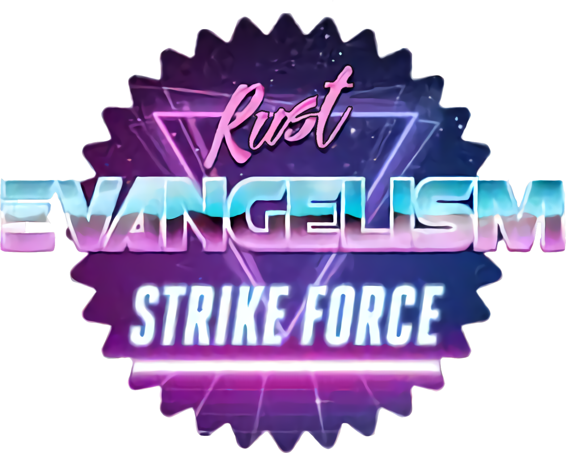 Rust Evangelism Strike Force logo